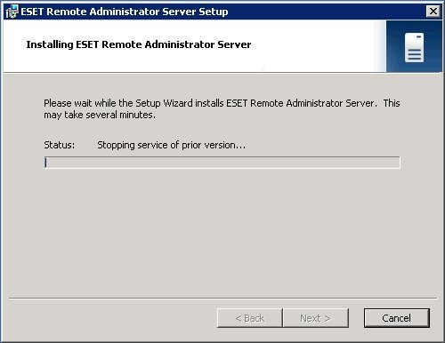 Upgrade NOD32 Business Edition (ERAS / ERAC) alla versione 4.x
