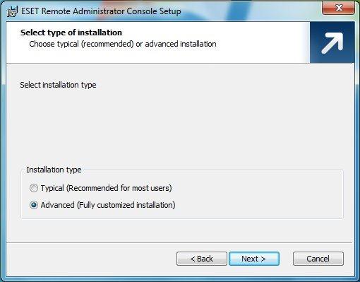 Upgrade NOD32 Business Edition (ERAS / ERAC) alla versione 4.x