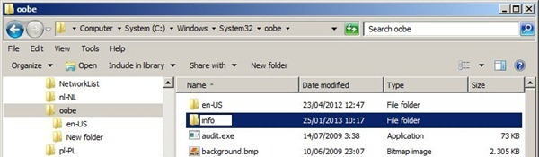 Modificare lo sfondo del login di Windows 7