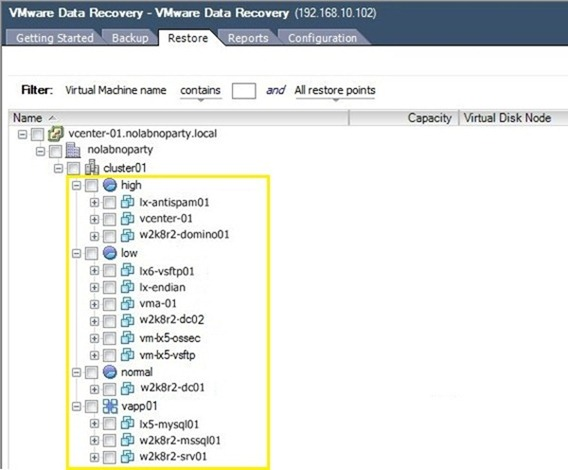 "Errore VMware Data Recovery ""The Umount operation failed…"""