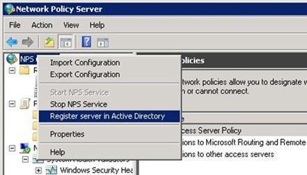 Setup NPS for RADIUS authentication in Active Directory - NoLabNoPartY