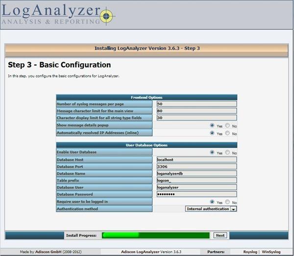 Configurazione Del Server Syslog In Centos Iso