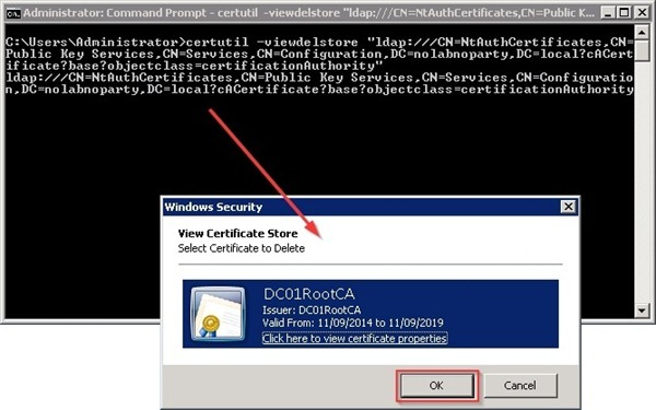 Remove ca from active directory nolabnoparty decommissionca36 yadclub Image collections