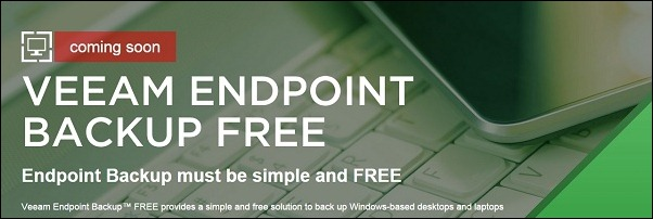 Veeam Endpoint Backup FREE annunciato
