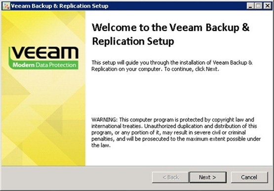 Veeam Backup and Replication 7 upgrade to version 8