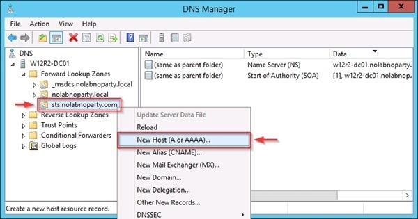 ADFS 3 0 install ADFS Server - pt  3 • Nolabnoparty