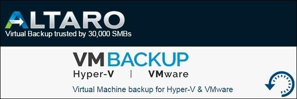 Altaro VM Backup 5