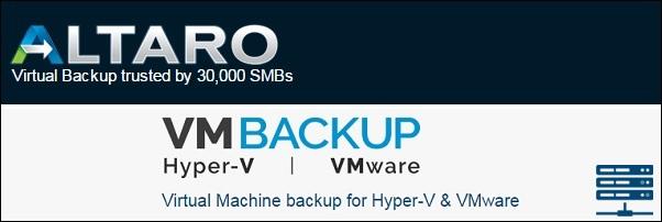 Altaro VM Backup 3
