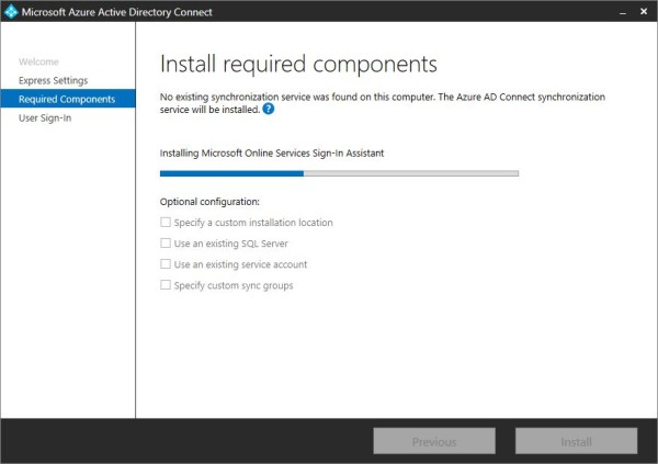 Office 365: install Azure AD Connect • Nolabnoparty
