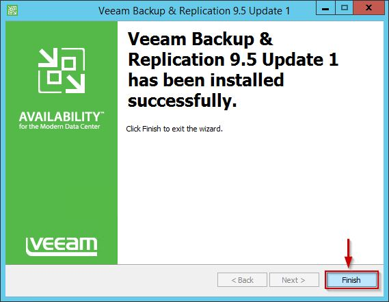 Veeam Backup & Replication 9.5 Update 1 1
