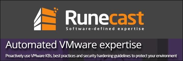 Runecast Analyzer 10