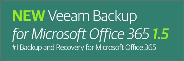 Veeam Backup per Microsoft Office 365 1