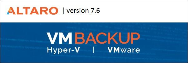 Altaro VM Backup 7.6 9