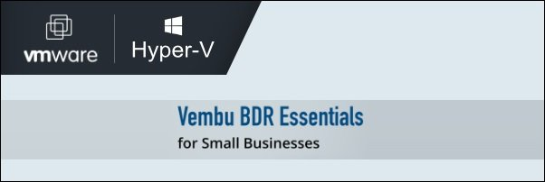 Vembu BDR Essentials 5