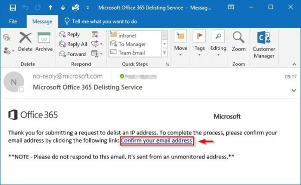 Office 365 error 505 5 7 606 banned sending IP • Nolabnoparty