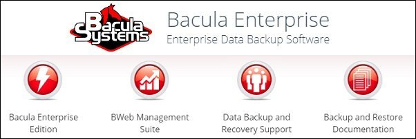 bacula enterprise backup 8