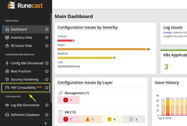 runecast-analyzer-2-6-automated-vmware-hcl-03