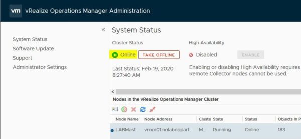 operations manager 6