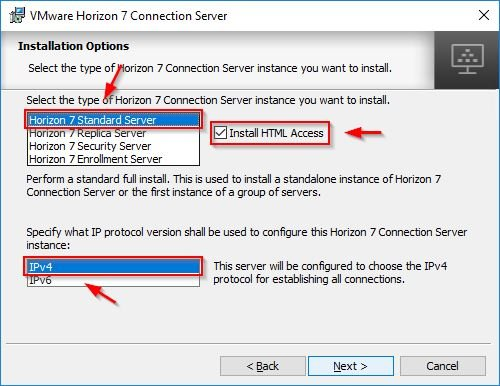 connection server 6