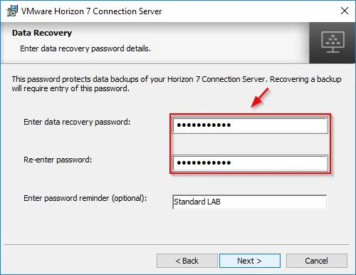 connection server 7