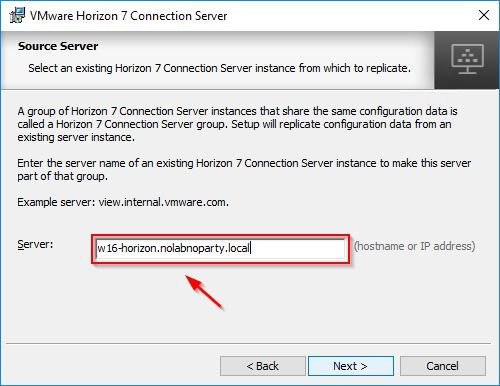 connection server 18