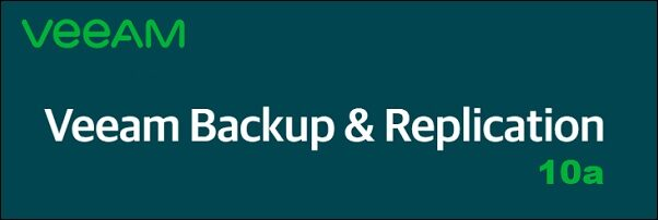 veeam backup 10