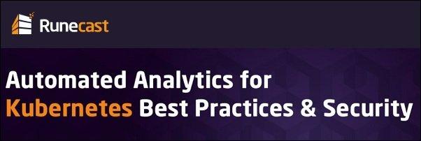 runecast-analyzer-4-5-kubernetes analysis-01