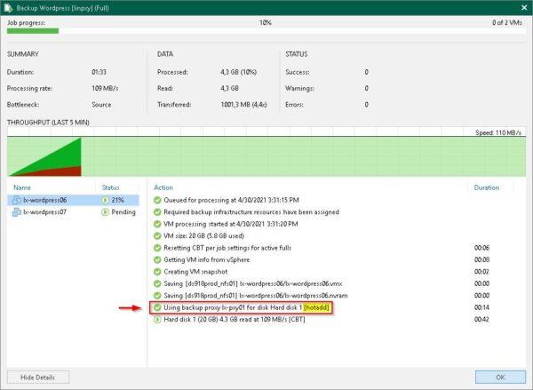 linux backup proxy 55