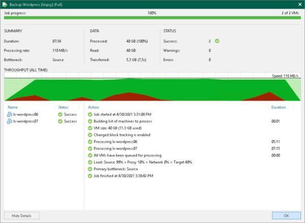 linux backup proxy 56